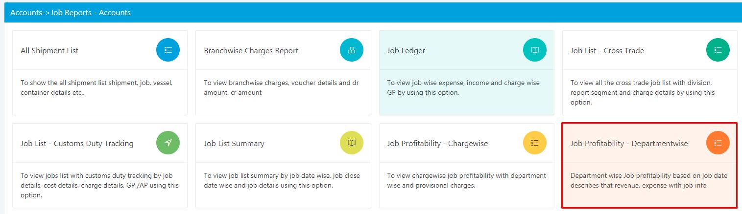 job profit report